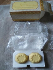 AVON CRYSTALUCENT COVERED BUTTER DISH & SOAPS - New in Box