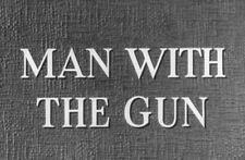 MAN WITH THE GUN, 1955, classic ROBERT MITCHUM action Western: DVD-R Region 2