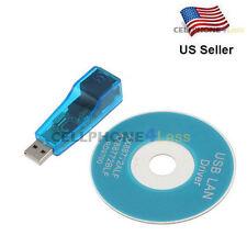 USB To Lan External Ethernet RJ45 Network Adapter 10/100 Mbps For PC Laptop