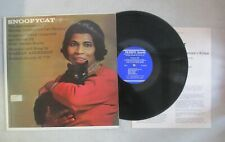 1963 MARIAN ANDERSON - THE ADVENTURES OF SNOOPY CAT LP SCHOLASTIC SC-770