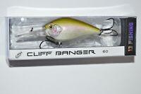 "13 fishing cliff banger 60 bass crankbait 2 3/8"" 1/2oz epic shad"