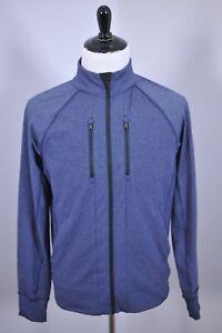 Lululemon Full Zip Track Jacket Blue Heather Men's Medium M