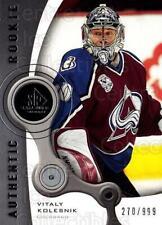2005-06 Sp Game Used #203 Vitaly Kolesnik