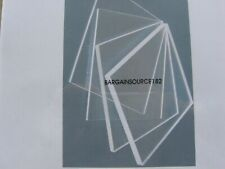 """Order For 7 Pcs, 3/16"""" Clear Acrylic Sheets - See Size Details"""
