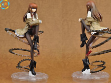 "Anime Steins Gate Makise Kurisu 1/8 PVC 22cm/8.7"" Figure Figurine New in Box a"