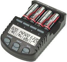 Cargador de Pilas Technoline BC 700 Indicador de Carga Baterias AA AAA NiCd NiMh