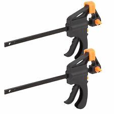 4-inch Ratchet Bar Clamp Set of 2 Pieces- Quick Release - Carpenters Vice