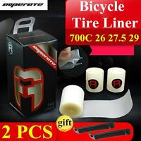 Bicycle Tire Puncture Proof Liner Protection Pad Road Bike Belt Mtm Tyre Tires