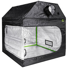 More details for hydroponic loft grow tent 600d silver mylar light proof fabric steel frame