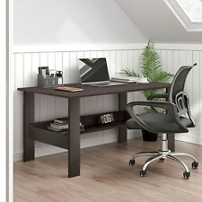 Computer Desk Study Student Laptop Table with Shelf Home Office Furniture Bk �