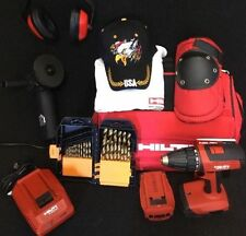 HILTI SFC 18-A, NEW, W/ 2 BATTERIES, FREE GRINDER, A LOT OF EXTRAS, FAST SHIP
