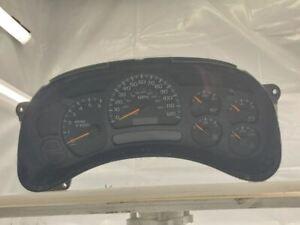 Speedometer Instrument Cluster 2005 Chevy Silverado 1500 248K Miles 15224141