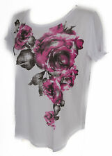 T-shirt maglietta donna RAGNO art.702577 taglia 6/XL colore 983F FANT WHITE