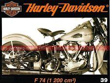 HARLEY DAVIDSON 1200 F 74 F74 WW2 Military Esox LUCIUS Stellan EGELAND MOTO HD