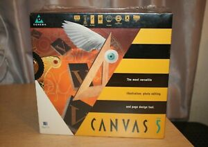 DENEBA Canvas Draw 5.0 Mac OS Image Design Illustration POWER PC NEW SEALED