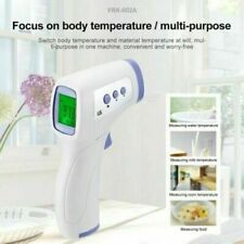CE Medical Grade NON-CONTACT Infrared Forehead Thermometer LCD Laser IR