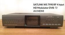 4 Route HD Modulator RF DVB- T/ AV/HDMI SATLINK WS 7990 SE