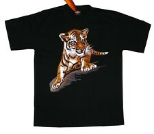 T-shirt: pequeño tigre, talla L india Safari África sábana gato, animal Zoo