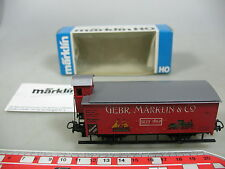 AJ77-0,5# Märklin/Marklin H0/AC Güter-/Museumswagen 1989 K.W.St.E., NEUW+OVP