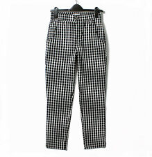 New Hollister by A&F Stretch Ultra High-Rise Crop Taper Trousers Bottoms Pants S