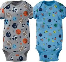 Gerber Onesie Brand New Baby Boys 2 Pack Onesies Sports & Space Design Gift