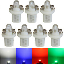 7x LED Tachobeleuchtung Speedometer Cockpit White Red Blue Green Audi 100/A6