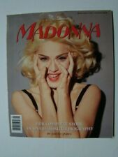 Madonna Complete Story Unauthorized Biography Photograph Cover 1991 VF