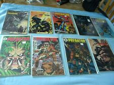 Dark Horse Comics 10 Comics Alien-Predator NM Autographs
