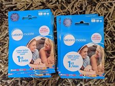 New! 4G Holland SIM CARD LEBARA Netherlands (regular, micro, nano) EU EUROPE