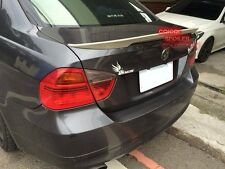 Unpainted BMW 06~11 E90 3-series sedan high kick Performance type trunk spoiler