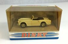 Matchbox Dinky DY-20 White Triumph TR4A - IRS Boxed