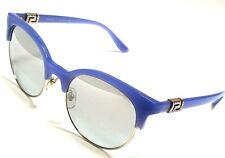 79a3c0b8cac0 Authentic VERSACE VE4326B 5227 6V Opal Azure Gold Silver Mirror Lens  Sunglasses