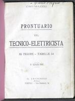 C. Mazzei - Prontuario del Tecnico Elettricista - s.d. Lavagnolo