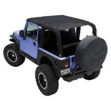 Mesh Extended Soft Top for Jeep Wrangler TJ 1997-2006 Black Smittlybilt 93600