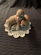 ~Homco~ Home Interior's Masterpiece Collection ~Baby Seals~ 1981