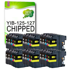 30 Chipped Ink Cartridge Replace For Brother DCP-J4110DW MFC-J4410DW LC127 LC125