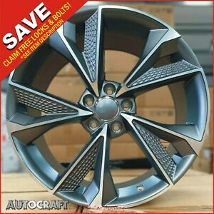 """20"""" RS7 C SM Style ALLOY WHEELS + TYRES - AUDI S4 S5 S6 S7 RS4 RS5 RS6 ALLROAD"""