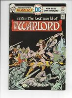 Warlord 1 DC 1976 VF Key Bronze Buy More Save More