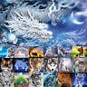 5D Diamond Painting Embroidery Cartoon Cross Stitch  Arts Craft Kit Mural Decor