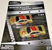 NASCAR AUTHENTICS 2019 1/87 #3 AUSTIN DILLON/ #8 DANIEL HEMRIC 2 CAR SET NEW!