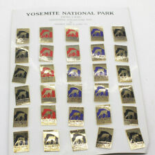 """Yosemite National Park Centennial 1990 by Ancal 1 1/4"""" Pinback NEW DISPLAY C86A"""