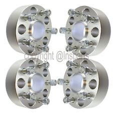 "(4) 2"" Hubcentric 5x110 Wheel Spacers Fits 2015-2018 Jeep Cherokee Renegade"