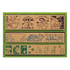 Ghibli My Neighbor Totoro Wood Stamp Deluxe DX SG-135 Japan