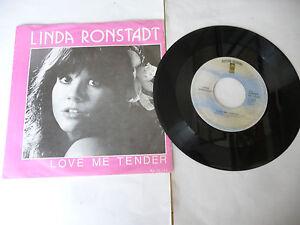 """LINDA RONSTADT""""LOVE ME TENDER-disco 45 giri ASYLUM Holl 1979"""""""