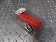 NEW MAGNUM HALF WAFFLE GRIPS MX TWIST RED HONDA CR 80 125 250 490 KAWASAKI KX