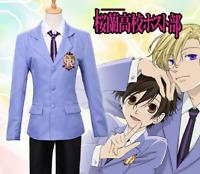 Ouran High School Host Club Tamaki Suoh School Uniform Cosplay Costume Suits