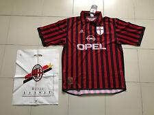 MAGLIA AC MILAN 1999/2000 CENTENARIO OPEL VINTAGE RARISSIMA TAGLIA L