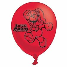 Amscan 9900743 27 9 cm Super Mario Bros 4 lati Palloncini in Lattice