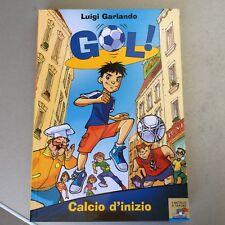 VINTAGE# GOL  CALCIO D'INIZIO#LUIGI GARLANDO NUOVO
