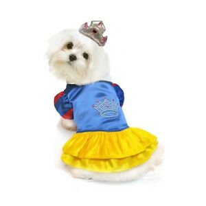 High Quality Dog Costume - SNOW PRINCESS COSTUMES - Dogs as Pretty Princesses